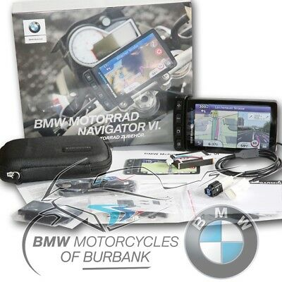 BMW Motorrad Motorcycle Genuine Navigator VI GPS without Advance Cradle