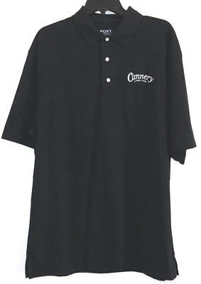 Cannery Casino Hotel~Port Authority Black Golf Shirt Nwot Sz Xl
