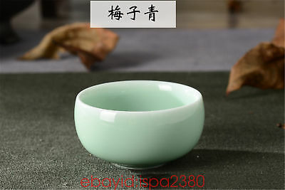 Longquan Celadon teacups small porcelain cup chinese kung fu tea cup