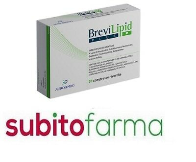 BreviLipid PLUS 30 compresse- Integratore CONTROLLO COLESTEROLO - Aurobindo