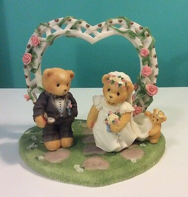 "Cherished Teddies ""Our Cherished Wedding"" by Enesco Collector's Set 510254"