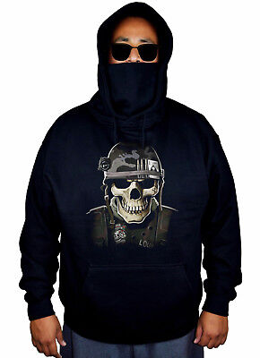 Men/'s Center Army Strong Camo//Black Raglan Hoodie Military American US Soldier
