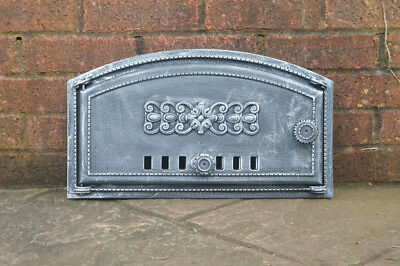 49 x 27.5 cm cast iron fire door clay bread oven doors pizza stove