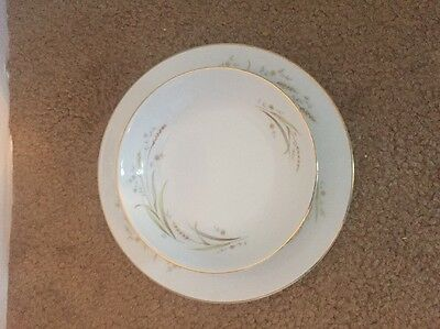 Golden Harvest Fine China Of Japan Dessert Bowl And Salad Plate