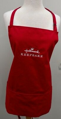 Hallmark 2018 ~ Keepsake Ornament Apron - Limited and Hard to Find - Brand New