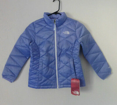 The North Face Girl Aconcagua 505 Jacket Down Dynasty Blue  Girls Sz M 10/12 New