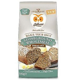 Odlums Stoneground Wholemeal Bread Mix 500g