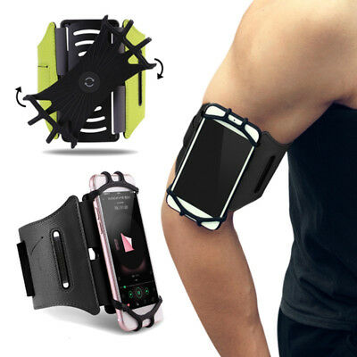 "Rock Sports Armband Case For iPhone X 8 Universal 4""-6"" Wrist Running Sport Bag"