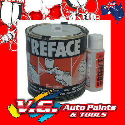 U-Pol Reface Sprayable Primer Filler Putty 1lt