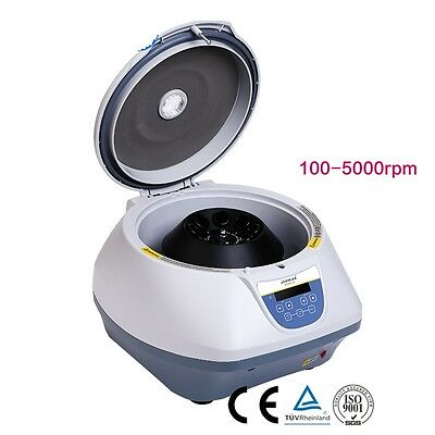PRP Centrifuge Medical Blood Plasma Serological Centrifuge 5000 rpm 8*15ml 110V