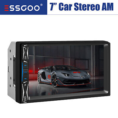 7 Inch HD Bluetooth Car Stero Radio 2 DIN FM/MP5/USB/AUX Player Audio Head Unit