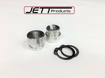 BMW billet aluminum throttle bushings e30 e34 e28 e39 e36 m20 m30 m50 s14 m60