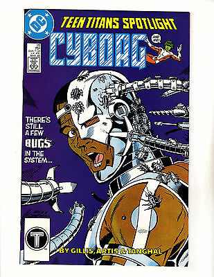 Teen Titans Spotlight #20 (1988, DC) VF- Cyborg & Changeling