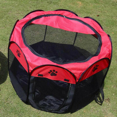 Pet Dogs Puppy Folding Playpen Cages Tent Kennel Soft Exercise Fence Crate Tents & Pet Tent Folding Fence Playpen Kennel Puppy Dog Cage Exercise Soft ...