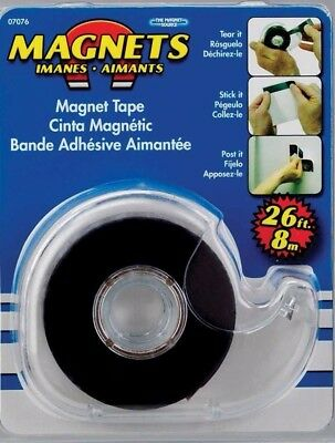 New (Lot of 6)  MAGNETS Magnetic Tape With Dispenser
