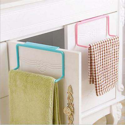 Over Door Tea Towel Rack Bar Hanging Holder Rail Bathroom Kitchen Hanger Hot Lh