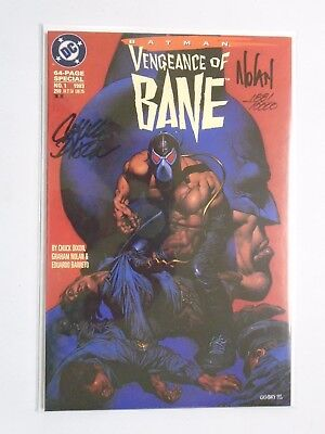 Batman Vengeance of Bane Special (1993) #1 - NM - w/ COA signed Dynamic Forces