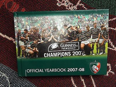 Leicester Tigers Official Yearbook 2007-08 - Rugby Union Hb Book