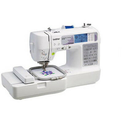 Brother SE400 Computerized Sewing + Embroidery Machine, Stylist Project, New!