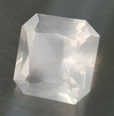 WaterfallGems Octagonal Girasol/Moon Quartz, 17.9x17.5mm, 23.57ct
