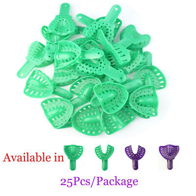 25×Ortho Impression Trays disposable L/S Adult Upper/Lower EASYINSMILE Full Arch