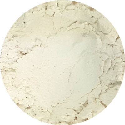 Arctic White Cosmetic Mica Powder 3g-50g Pure Soap Bath Bomb Colour Pigment
