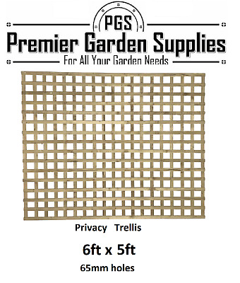 Brand New 6ft x5ft Larch Lap Fence Panel Garden Wooden Fencing RRP £28