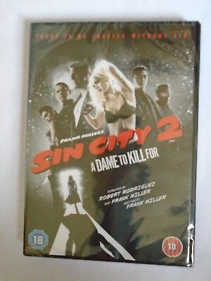 Sin City 2 - A Dame To Kill For - Frank Miller - DVD - Brand New and Sealed