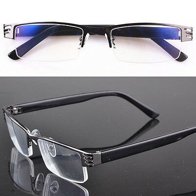 High Quality Reading Glasses Metal Eyewear Coating Half-Frame Stylish 1.0 To 4.0