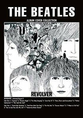 The Beatles Revolver Album Cover Postcard Fan Gift Idea Official Merchandise