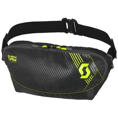 SCOTT Hip-Belt Enduro Offroad Gürteltasche Hüfttasche Everyday black/neon yellow