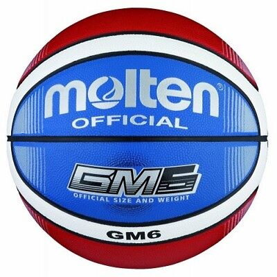 Molten Basketball gm6x-c - Top Training Ball Made of Synthetic Leather - bgm6x-c
