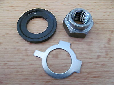 57-1045K Triumph T90 T100 T120 3Ta 5Ta Clutch Gearbox Mainshaft Nut & Washer Kit