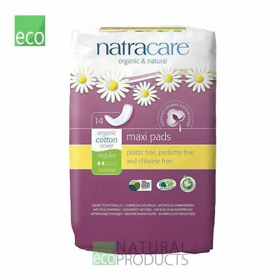 Natracare Organic Cotton Ultra Maxi Pads 14 Regular