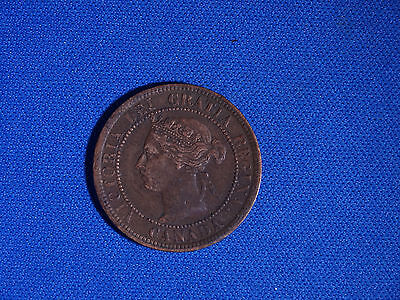 Canada 1901 Large Cent Canadian one Victoria Penny