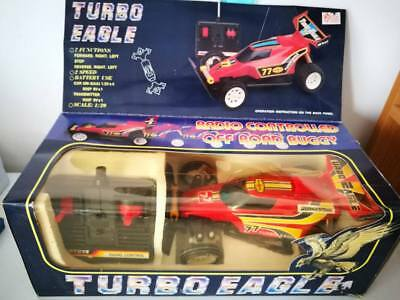 Turbo Eagle Radio Controlled Off Road Buggy Vintage Toys