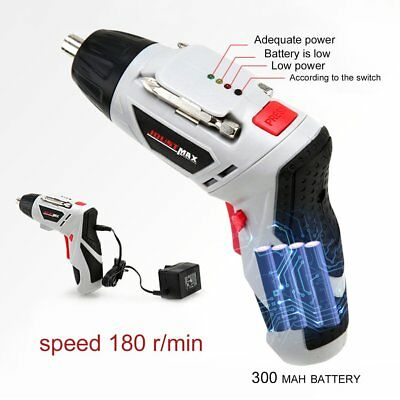 4.8V Electric Screwdriver Set Multifunctional Rechargeable Electric Hand Drill#D