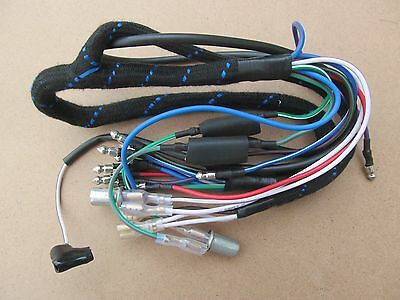 5490711 Genuine Lucas Bsa A50 A65 Triumph T120 Headlamp Wiring Harness (59635)