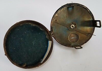 Circa 1750 Rare German Brass Circumferentor (surveyor's compass)