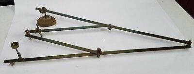 Circa 1840:  Brass Pantograph by Adie, London