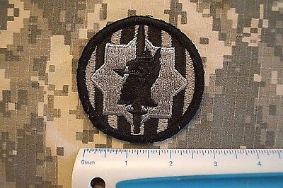 VELCRO ® Military Patch US Army 89th Military Police Brigade ACU Authentic USED