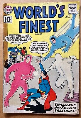 WORLD'S FINEST #120 (1961) DC Silver Age Superman Batman; G/VG Low Grade