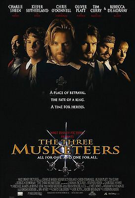The Three Musketeers Kiefer Sutherland Double Sided Original 27x40 Movie Poster