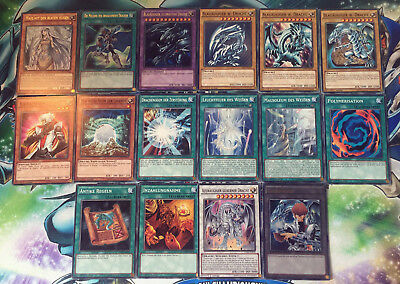 Yu-Gi-Oh! blauäugiger W.Dragon Kaiba Deck Ultimate ldk2-dek40 16 Cards #66
