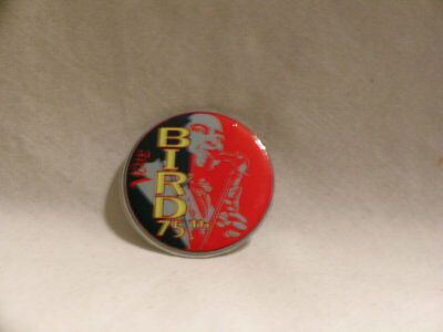 CHARLIE PARKER Bird 75th Verve Records promo only PINBACK button