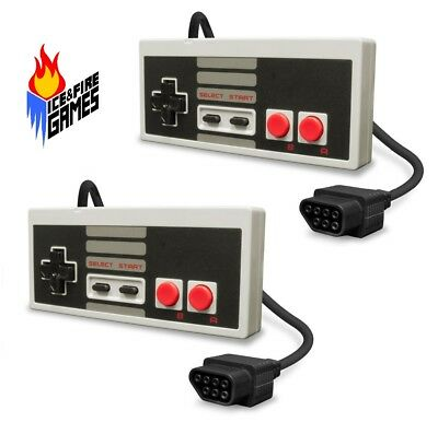 Classic NES Gamepad Controllers for Nintendo Entertainment System (2 Pack)
