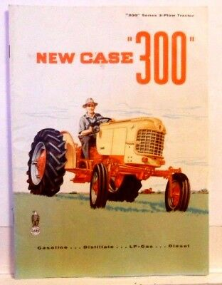 Case 300 Series Tractor, Vintage Original Sales Brochure
