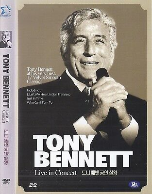 Tony Bennett Live at THe Jubilee Auditorium Canada DVD NEW DVD *FAST SHIPPING*