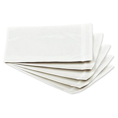 """500 Pack 5.5"""" x 7.5"""" Clear Packing List Envelopes Self Seal Shipping Pouch"""