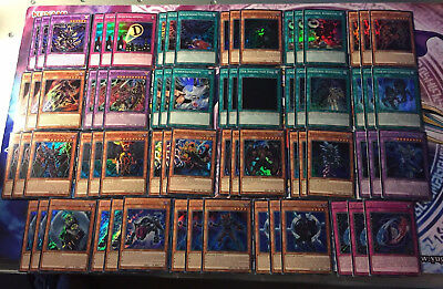 Yu-Gi-Oh! schicksals-held Deck / Set / Core 69 Cards German Deso Destiny Hero
